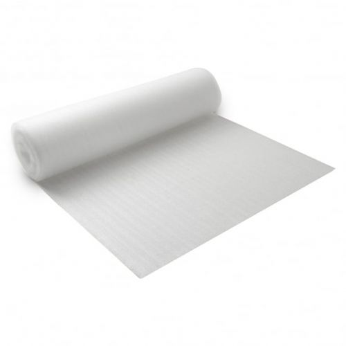 White Foam Flooring 2mm Underlay 15 Square Metre Rolls
